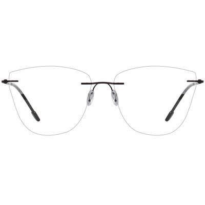 Rimless Eyeglasses 137444-c