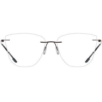 Rimless Eyeglasses 137447-c
