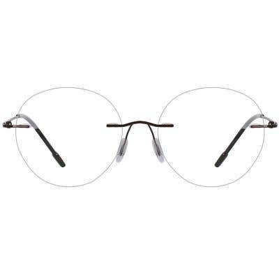 Rimless Eyeglasses 137452-c