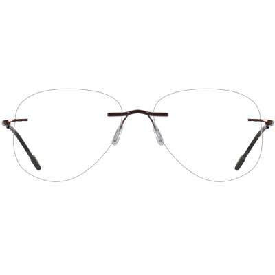 Rimless Eyeglasses 137457-c