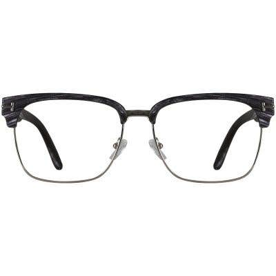 Wood Browline Eyeglasses 138026-c