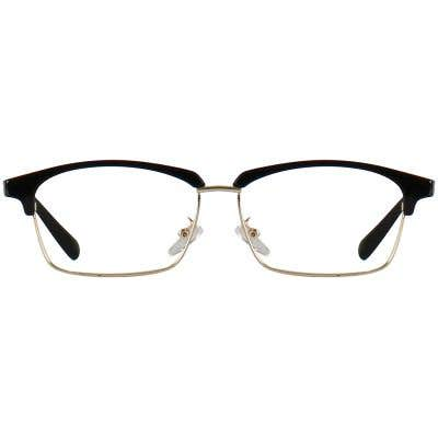 Browline Eyeglasses 140125-c