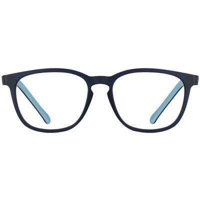 Kids Rectangle Eyeglasses 140167-c