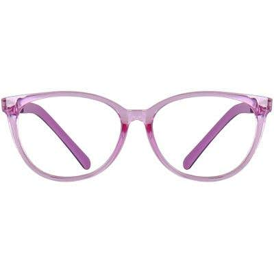 Kids Cateye Eyeglasses 140188-c