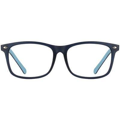 Kids Rectangle Eyeglasses 140196-c