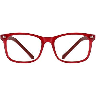 Kids Rectangle Eyeglasses 140199-c
