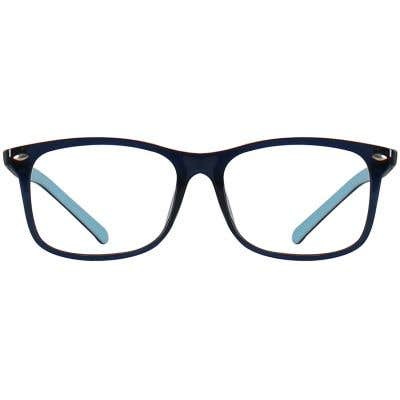 Kids Rectangle Eyeglasses 140204-c