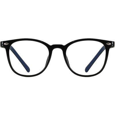 Kids Round Eyeglasses 140216-c