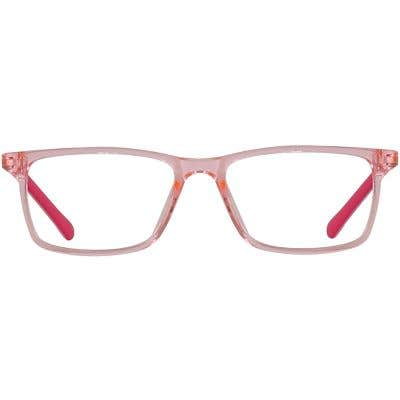 Kids Rectangle Eyeglasses 140231-c