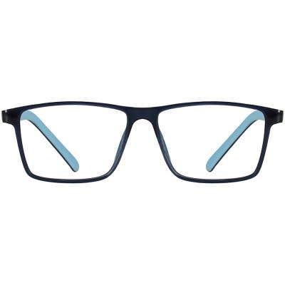 Kids Rectangle Eyeglasses 140239-c