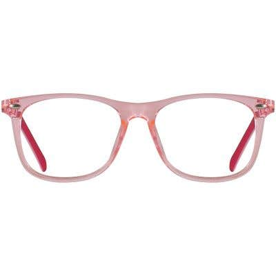 Kids Rectangle Eyeglasses 140248-c