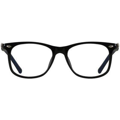 Kids Rectangle Eyeglasses 140251-c