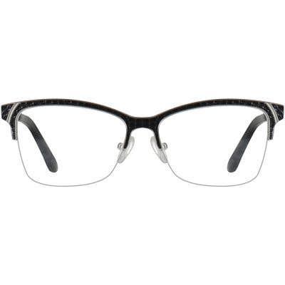 Rectangle Eyeglasses 140301-c