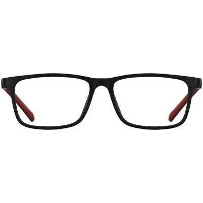Kids Rectangle Eyeglasses 140398-c