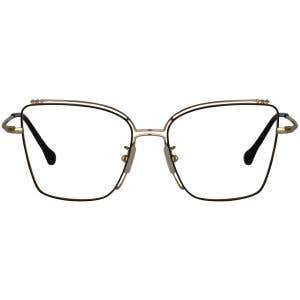1ea9724610f Rectangle Eyeglasses 129471-c