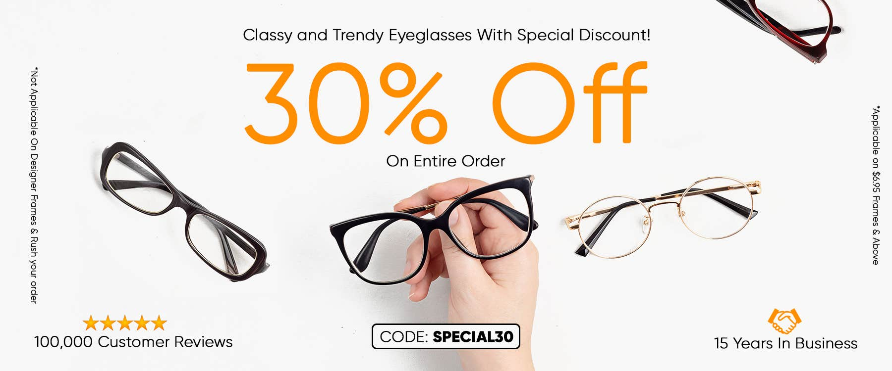 Special Discount For Entire Order CODE: SPECIAL30