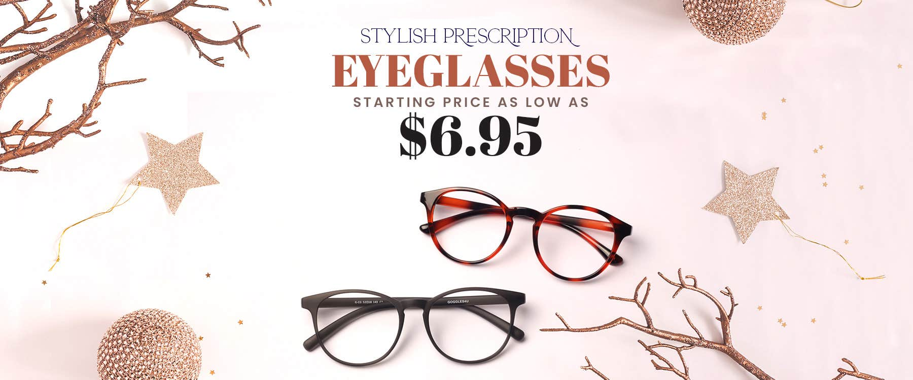 Prescription Eyeglasses Starting From $6.95