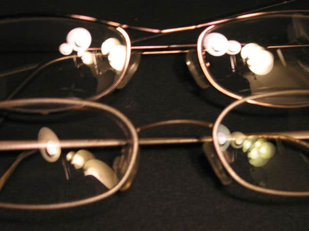 Additional pair of eyeglasses