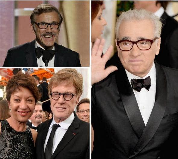 Celebrities wearing Eyeglasses at Golden Globe
