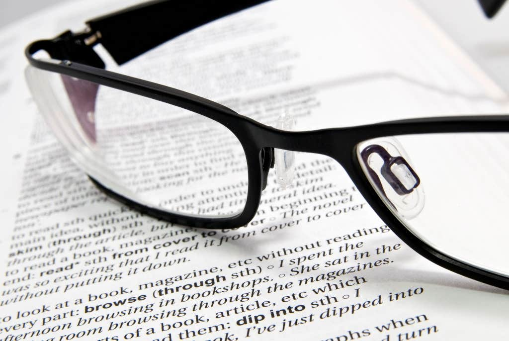 Book Reading Eyeglasses
