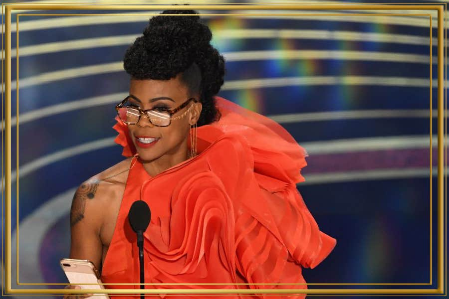 Wears Tortoise Shell at Oscars 2019
