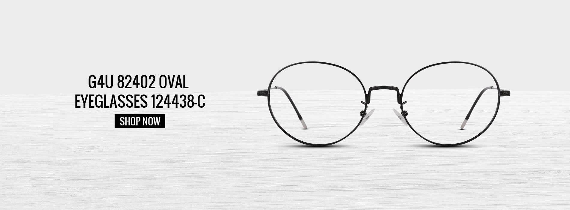 Buy G4U 82402 Oval Eyeglasses