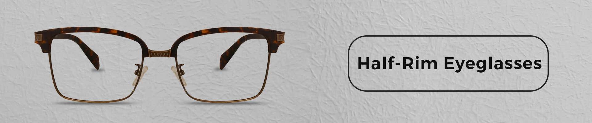 Half Rim Eyeglasses