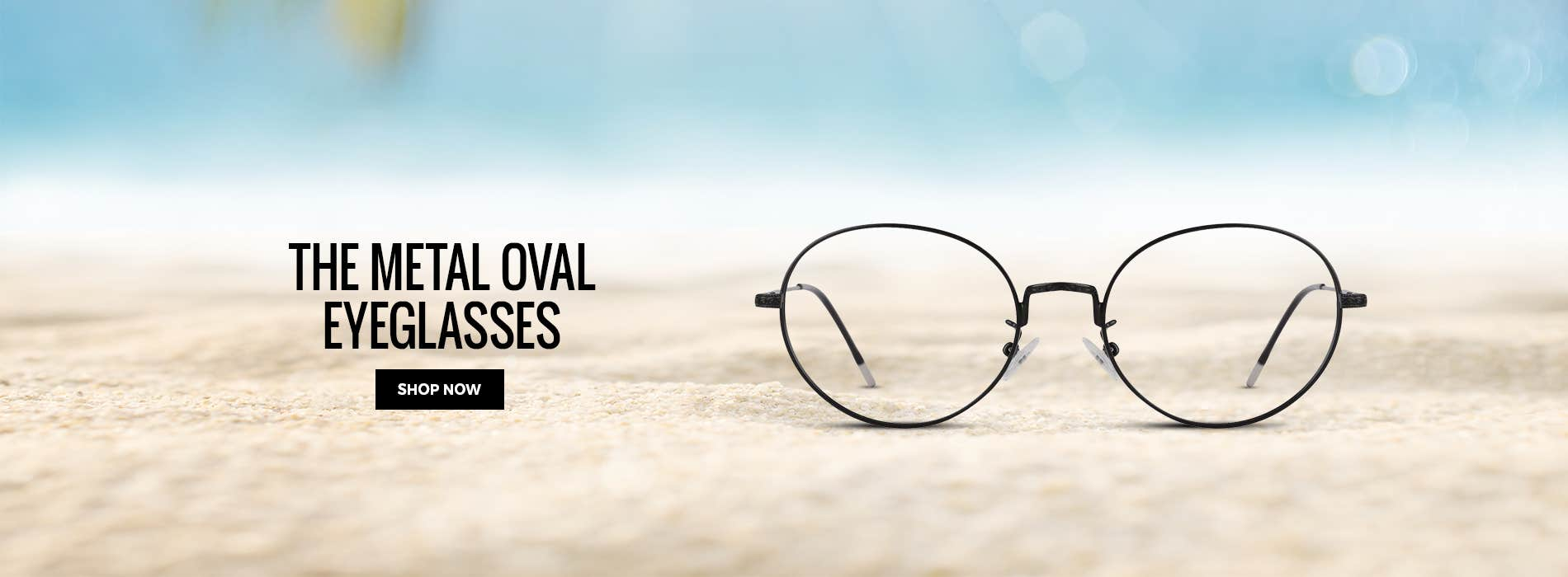 The Metal Oval Eyeglasses