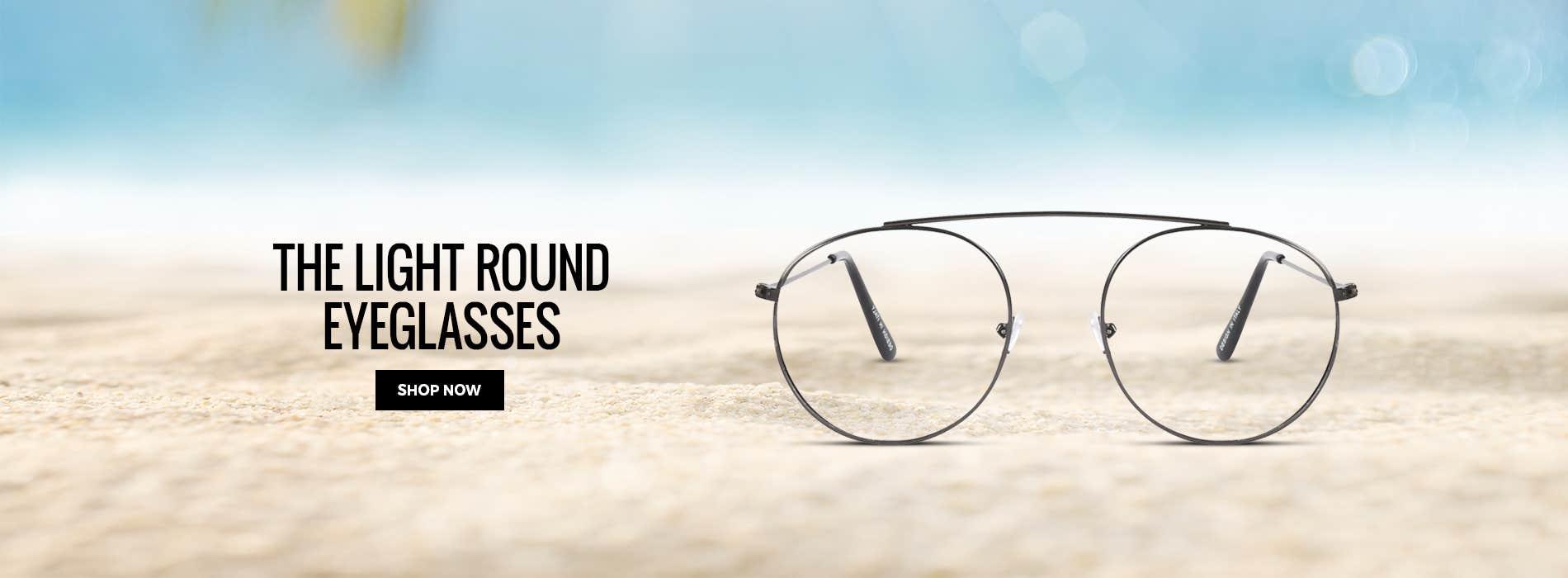 The Light Round Eyeglasses