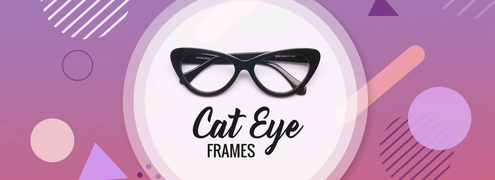 Buy Cateye Eyeglasses at Goggles4U