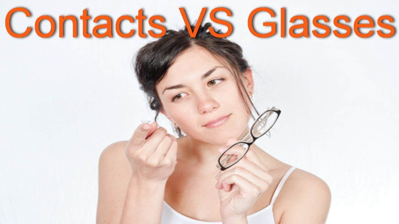 Contact Lenses Vs Eyeglasses