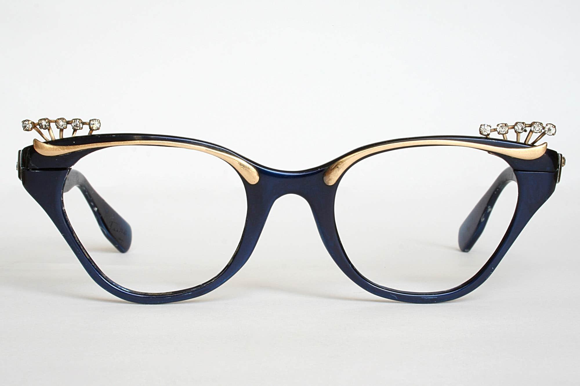 Unique Cat Eye Glasses Frame Vintage : Vintage Eyewear - A Fascination or A Trend? - Goggles4u.com