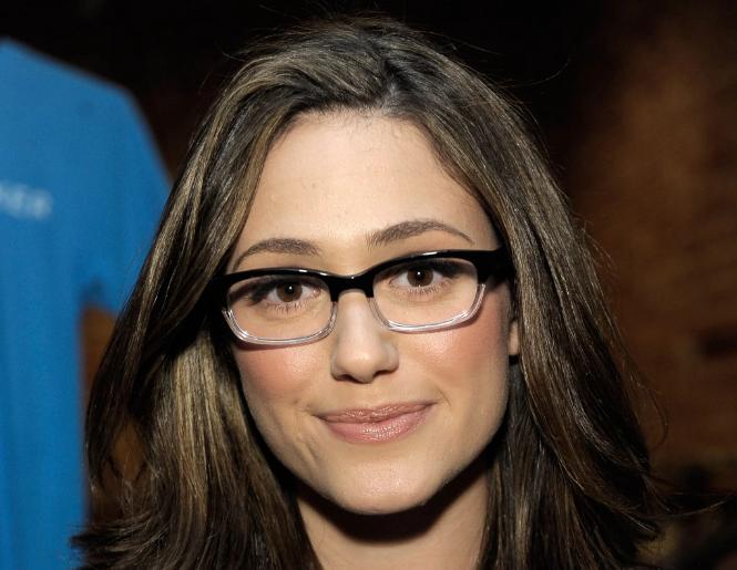 Emmy Rossum eyeglasses
