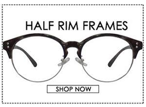 Half Rim Frames