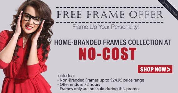 Free Frame Offer
