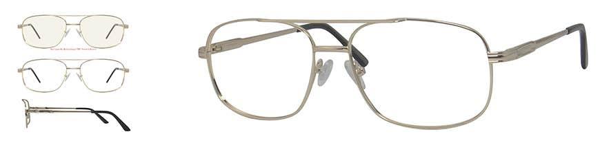 Metal Eyeglasses Frame for Men