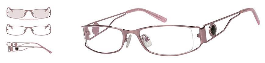 Metal Eyeglasses Frame for Women