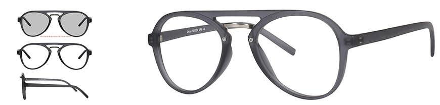 chip aviator eyeglasses frame