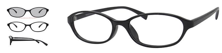 Oval Eyeglasses Frame