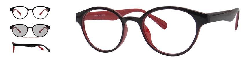 full-rim retro eyeglasse
