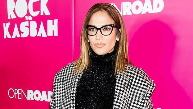 Jennifer Lope eyeglasses