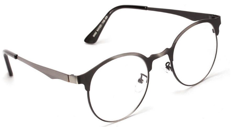 metal retro round glasses frame