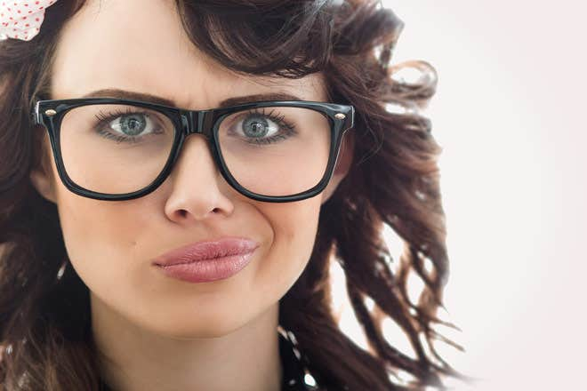 Eyeglass Frames For Large Eyes : Nerd Glasses - Fashion Statement Or Geeky Look - Goggles4u.com