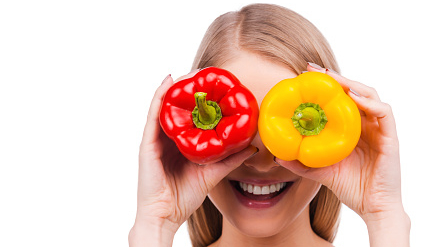Peppers for healthy eyes