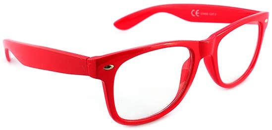 Retro Red Eyeglasses
