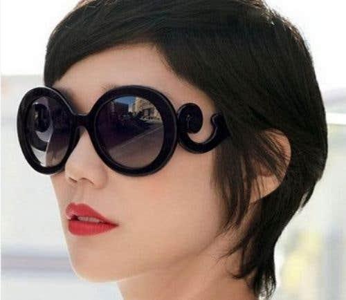 Round Funky Eyeglasses