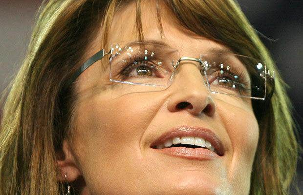 Sarah Palin Rimless Eyeglasses