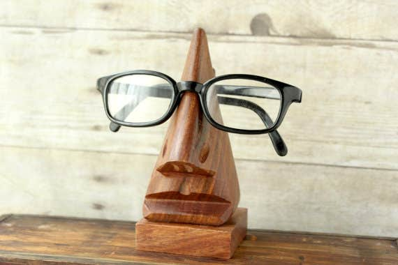 Select a permanent place to keep glasses