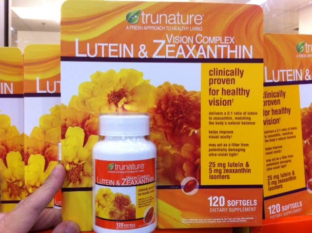 Supplements for Lutein and Zeaxanthin