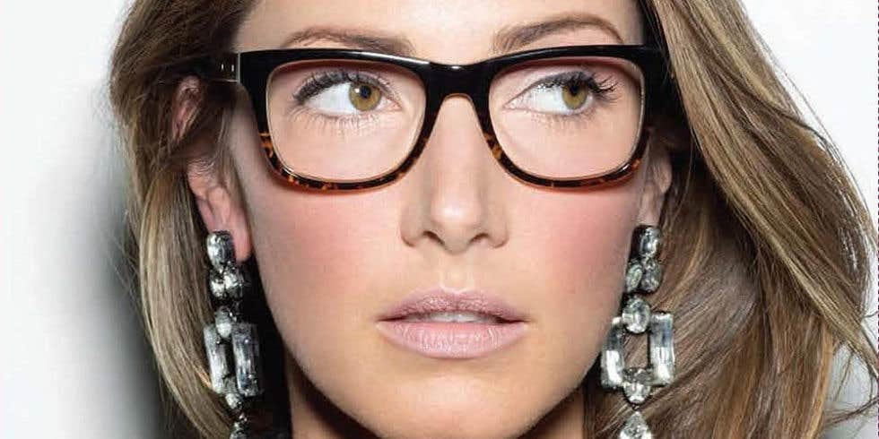 Wear Eyeglasses with Light shaded Eyes